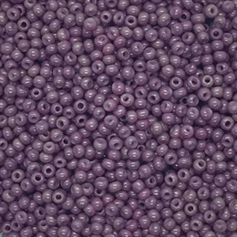 Seed beads 12/0, blomme, 10 gram