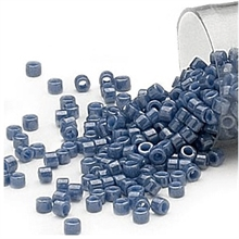 Seed beads, Delica 11/0 denim blå 7,5 gram. DB0267V