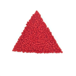 Seed beads, TOHO, 11/0, opaque cherry, 7,5 gram. (TR-11-109)