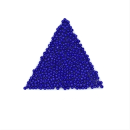 Seed beads, TOHO, 11/0, opaque navy blue, 7,5 gram. (TR-11-48)