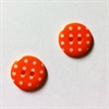 Knapper, orange, 4 stk