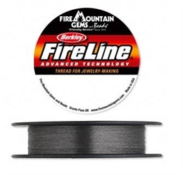 FireLine®, 2lb, smoke/sort, 0,08mm, 2 meter