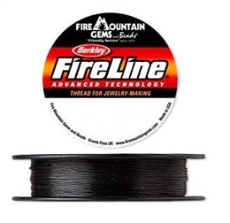 FireLine®, 10lb, smoke/sort, 0,2mm, 2 meter